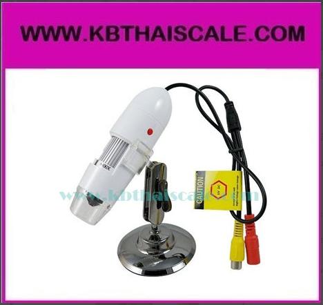 กล้องไมโครสโคป NEW TV out 2.0M Pixel Digital Microscope Zoom 25-400X ยี่ห้อ TV easy รุ่น 400X