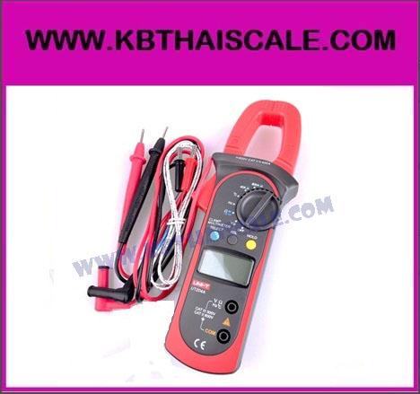แคมป์มิเตอร์ UNI-T UT204A เครื่องมือวัดไฟฟ้า AC/DC Digital Clamp Meter