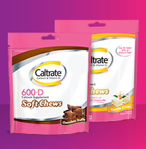 Caltrate ® 600 + D 3 Chews ซอฟท์