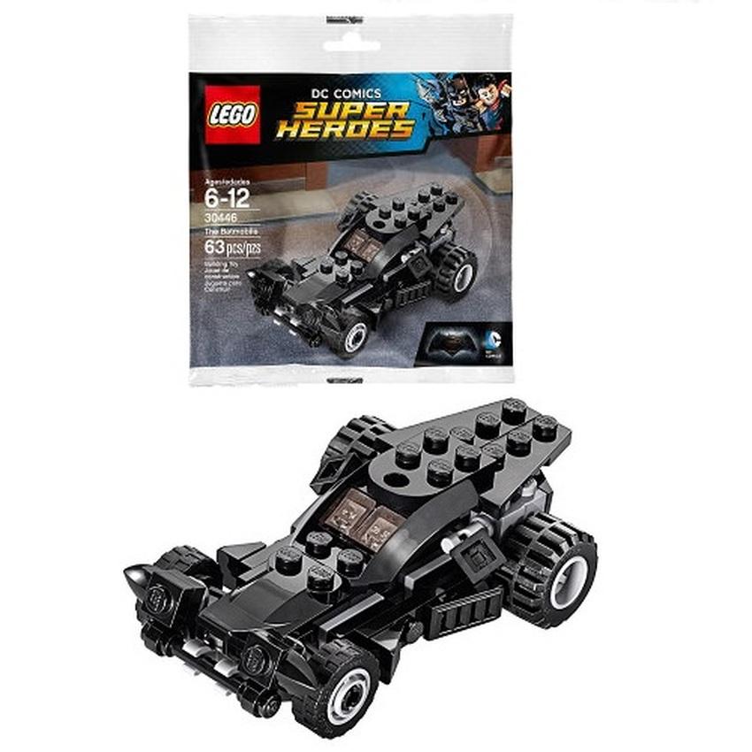 LEGO SUPER HEROES : No.30446 LEGO DC. COMIC THE BATMOBILE SETPolybag ชุดรถแบทโมบิล