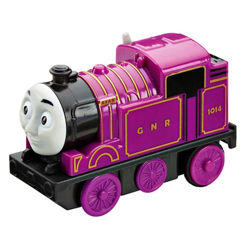 Thomas&Friends หัวรถไฟรุ่นใส่ถ่าน Ryan -สีม่วง