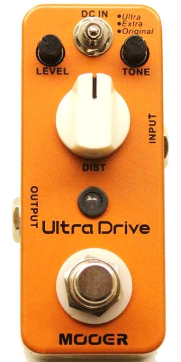 Mooer Ultra Drive MKII - Distortion Pedal