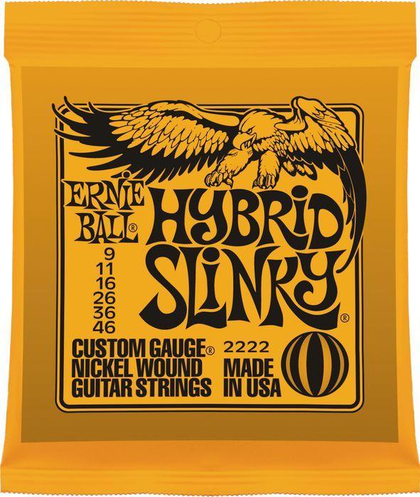 ERNIE BALL HYBRID SLINKY 009-046