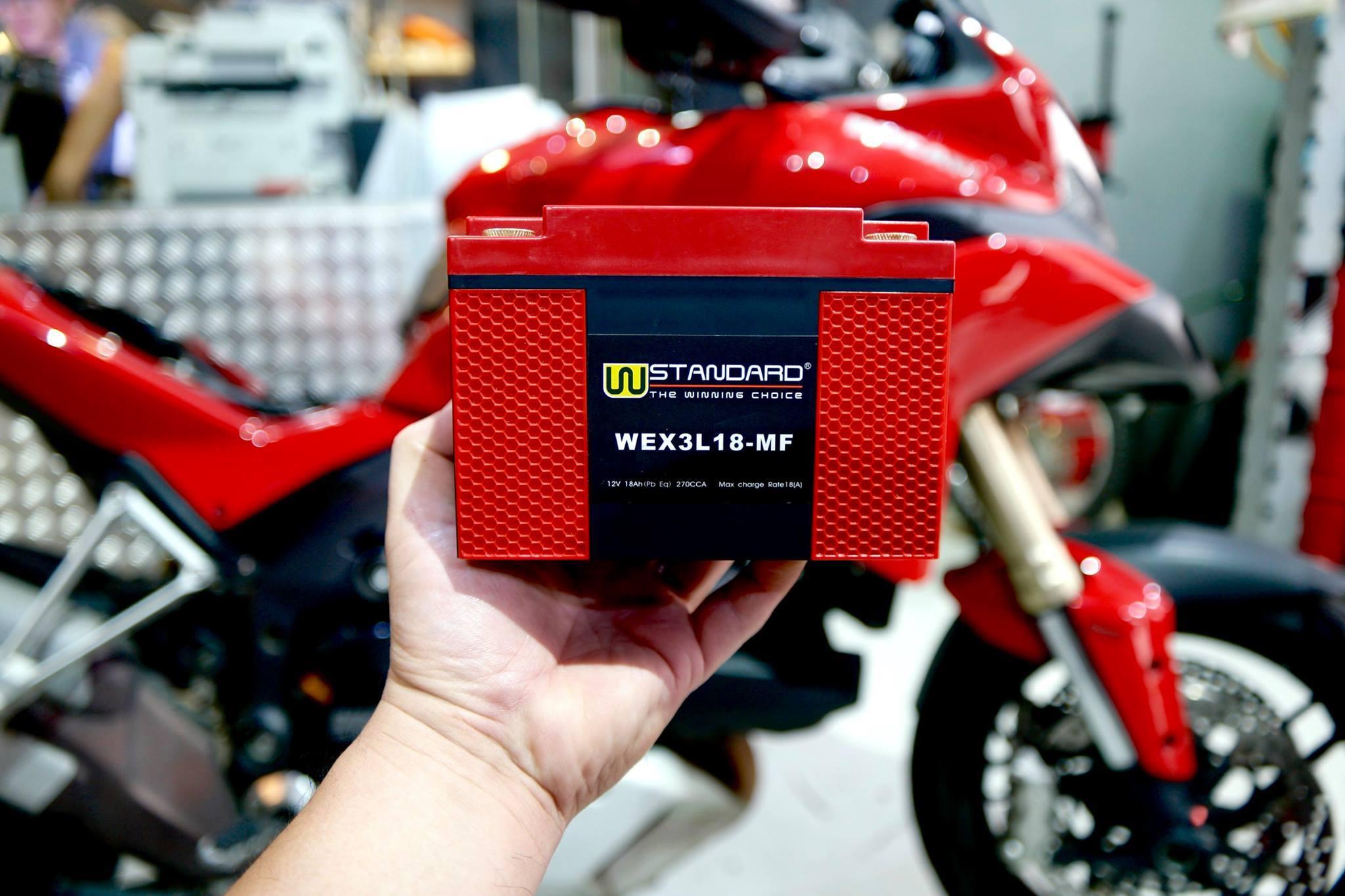 แบตเตอรี่ลิเธียม W-Standard รุ่น WEX3L18-MF (W-Standard Lithium Battery WEX3L18-MF)