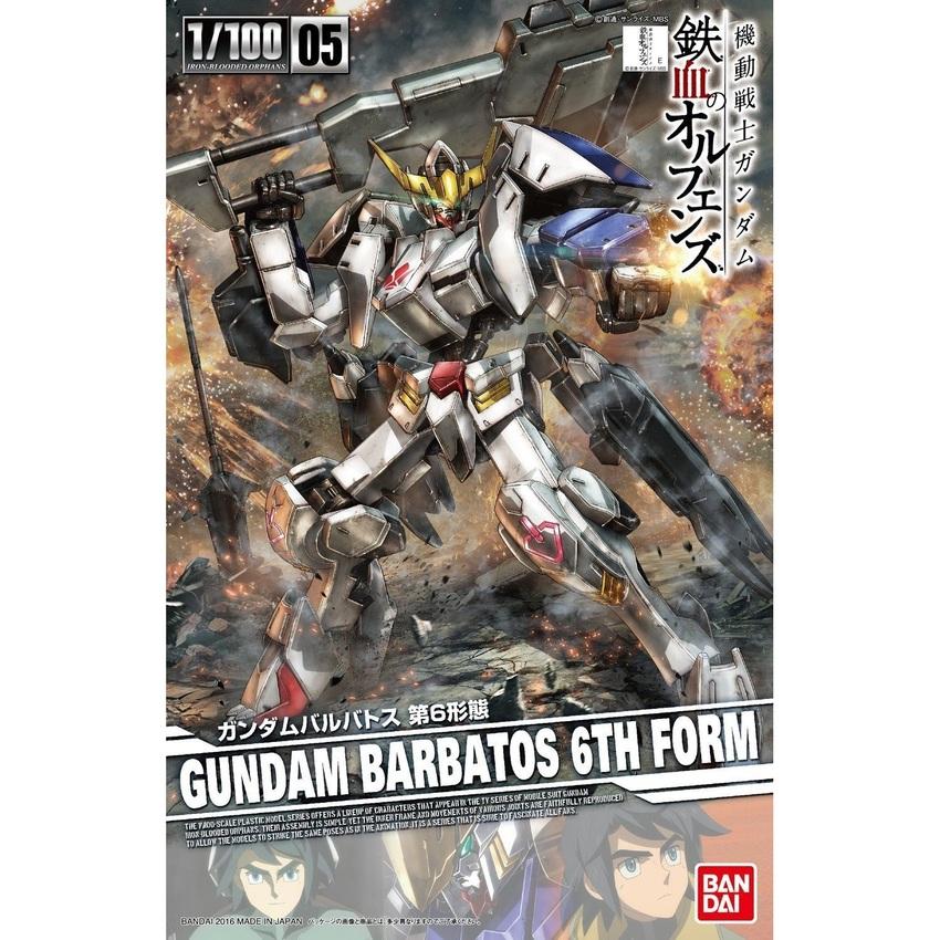 Bandai 1/100 Gundam Barbatos 6th Form