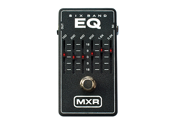 Jim Dunlop MXR 6-Band Graphic EQ M109