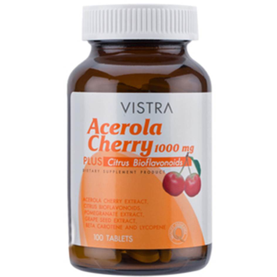VISTRA ACEROLA 1000mg 100 เม็ด