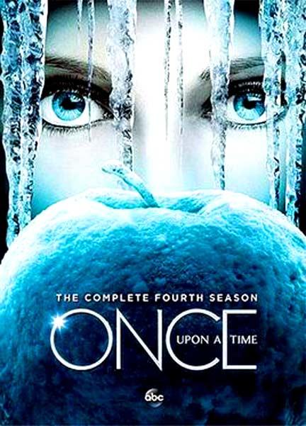 DVD Once Upon A Time season 4 มี 5 แผ่น ซับไทย