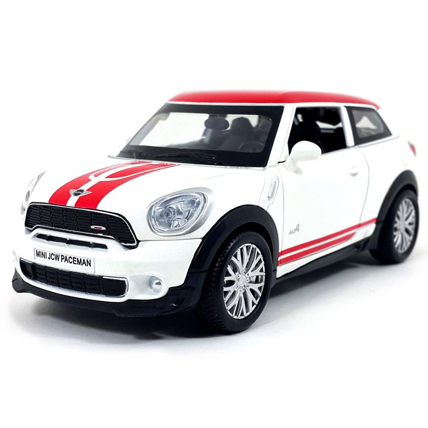 Mini รถโมเดล Mini John Cooper Works Paceman สีขาว (1/28)