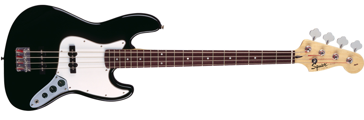 Squier Affinity Jazz Bass Rosewood Fingerboard