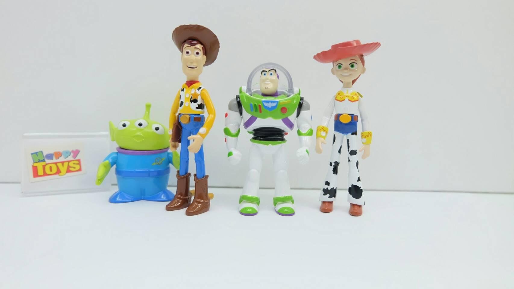 โมเดลตัวละครหลัก Toy Story งานลิขสิทธิ์แท้จาก Tomy วัสดุทำจากเกล็ก 100%