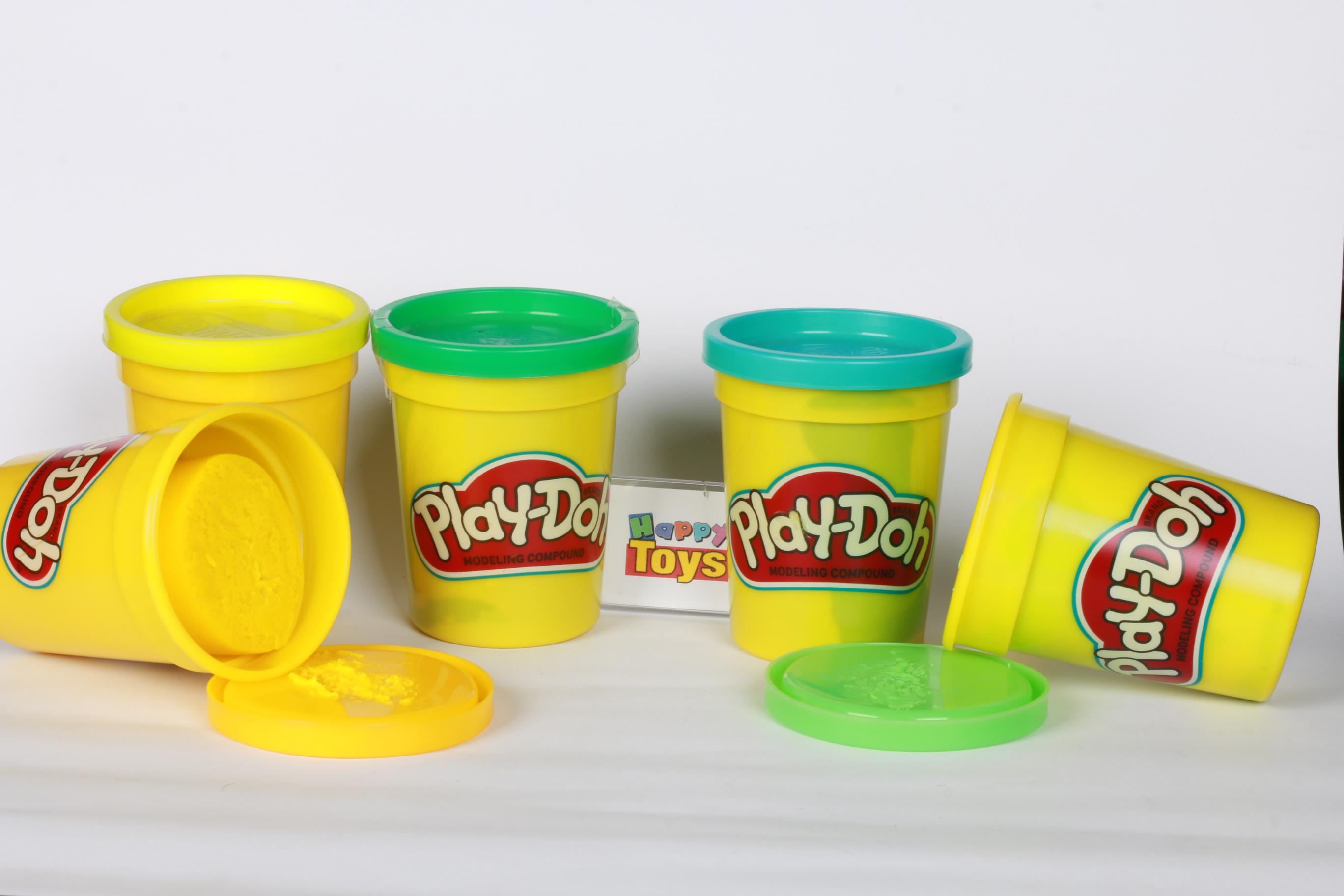 Play-doh เพลย์โดว์ ดินน้ำมัน แป้งโดว์ ดินน้ำมันสำหรับเด็ก ดินน้ำมันเล่นแล้วไม่ติดมือ ดินน้ำมันสะอาด