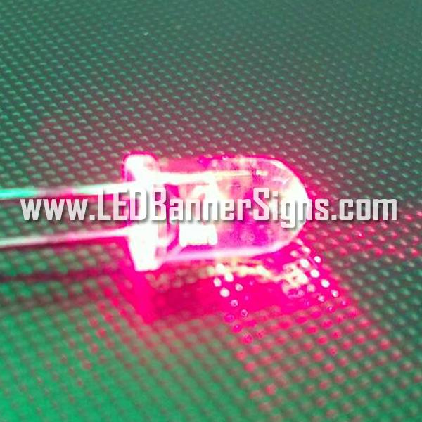 หลอดไฟ LED สีแดง 5 ม.ม. (สอบถามราคาพิเศษ)