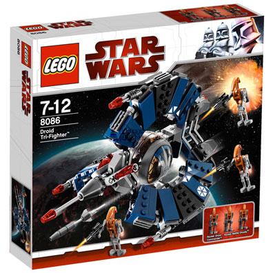 ชุดตัวต่อ LEGO Star Wars Droid Tri-Fighter 8086 | สินค้าหมด