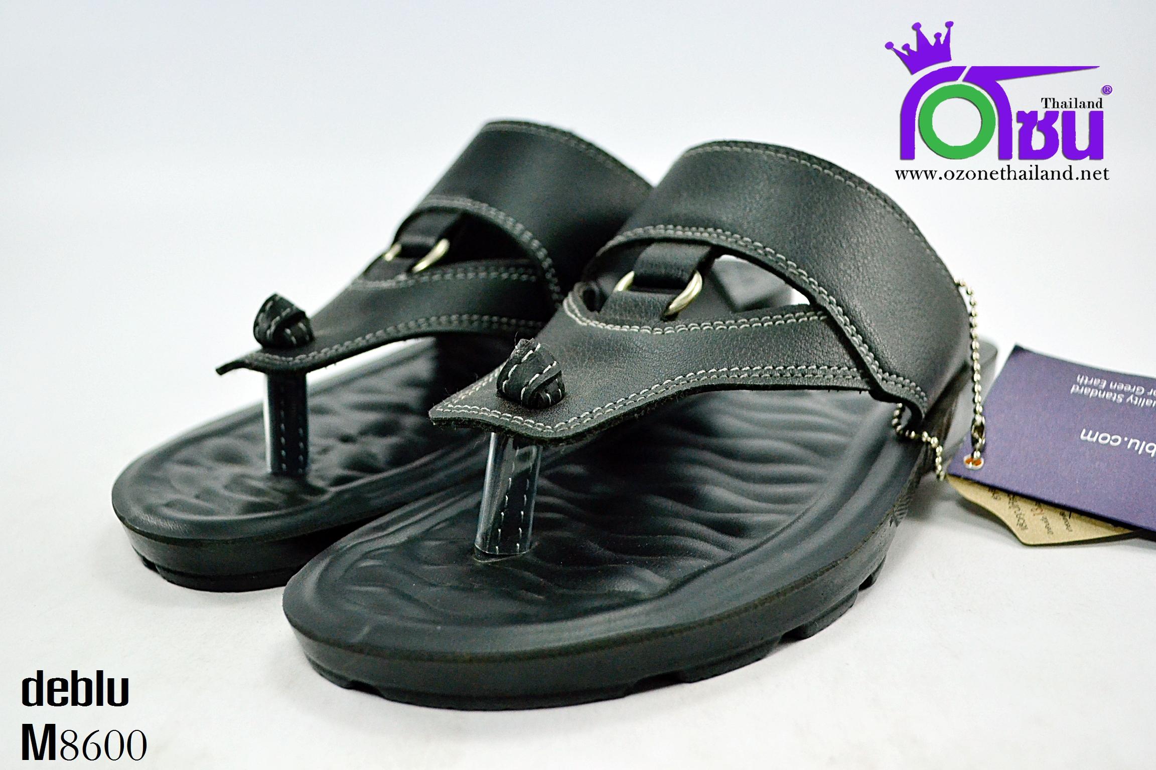 รองเท้า เดอบลู deblu รุ่น M8600 สีดำ เบอร์ 39-44