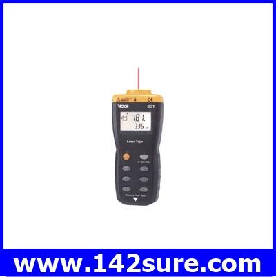 DMT035 : เครื่องมือวัดระยะ เลเซอร์วัดระยะดิจิตอล มิเตอร์วัดระยะทางแบบอินฟาเรด VICTOR 851