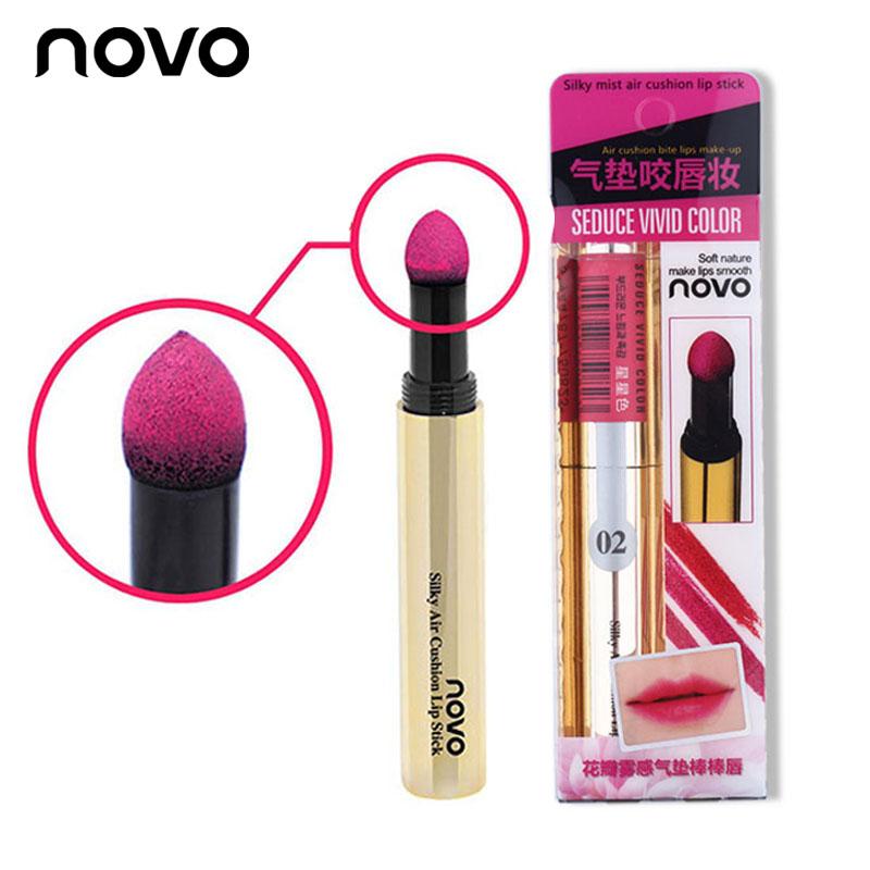 Novo Seduce vivid color ลิปคุชชั่น โนโว่ ราคาปลีก 80 บาท / ราคาส่ง 64 บาท