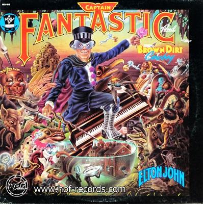 Elton John - Captain Fantastic And The Brown Dirt Cowboy 1975 1lp