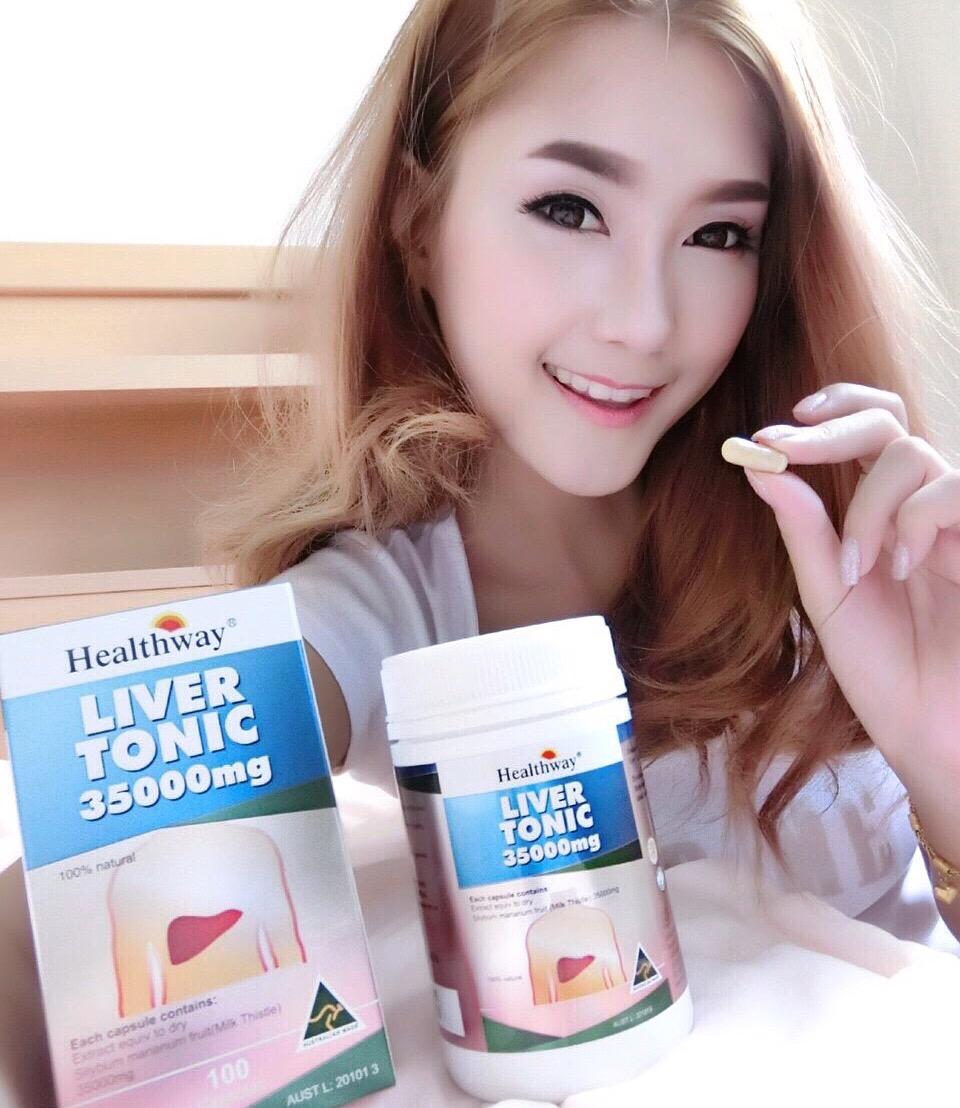 Healthway Liver Tonic 35000 mg ล้างตับที่ดีที่สุด เข้มข้นที่สุดในขณะนี้ ดูดซึมดีเยี่ยม