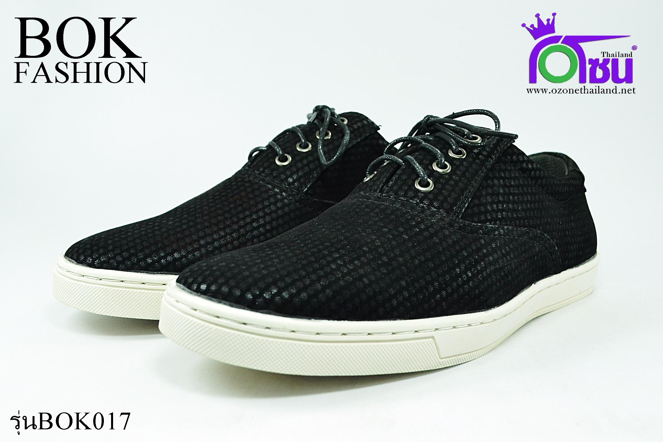 รองเท้า ผ้าใบSport BOK รุ่นBOK017 สีดำ เบอร์41-45