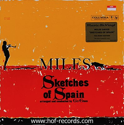 Miles Davis - Sketches Of Spain N. 1lp