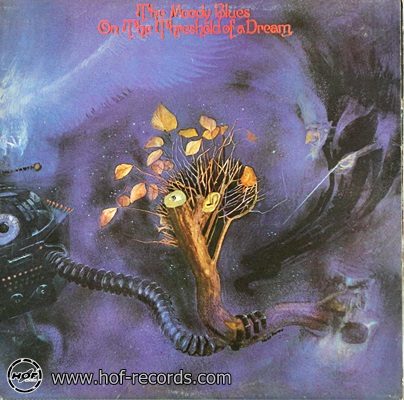 The Moody Blues - On The Threshold Of A Dream 1969 1lp