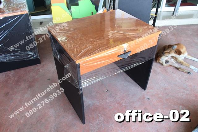 """โต๊ะทำงานล้ินชัก """"เมลามีน"""""""