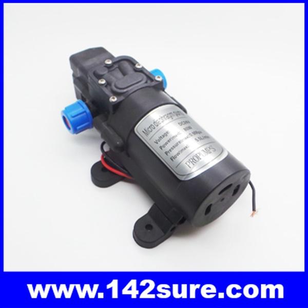 SOP039 ปั้มน้ำโซล่าปั้ม โซล่าปั้มน้ำดีซี แรงดันไฟ24VDC กำลังไฟ80W ปั้มน้ำได้ 5.5 ลิตร/นาที Micro diaphragm pump