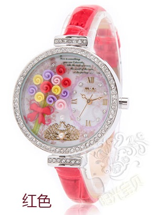 Pre-order: Bouquet of roses Mini watch