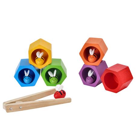 ของเล่นไม้ ของเล่นเด็ก ของเล่นเสริมพัฒนาการ Beehives (ส่งฟรี)