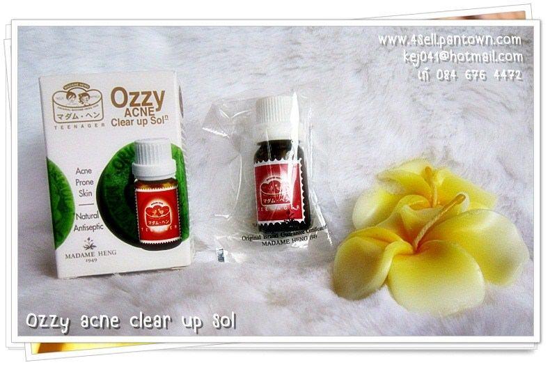 แต้มสิวออสซี่มาดามเฮง Ozzy acne clear up solution มาดามเฮง