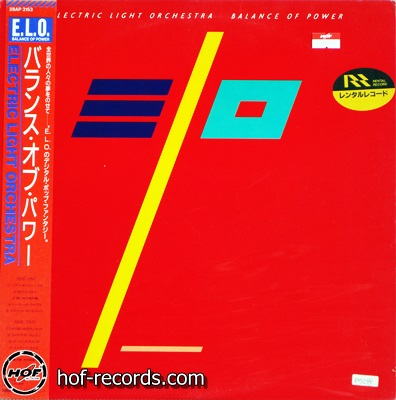 ELO - Balance Of Power 1lp