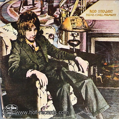 Rod Stewart - Never A Dull Moment 1lp