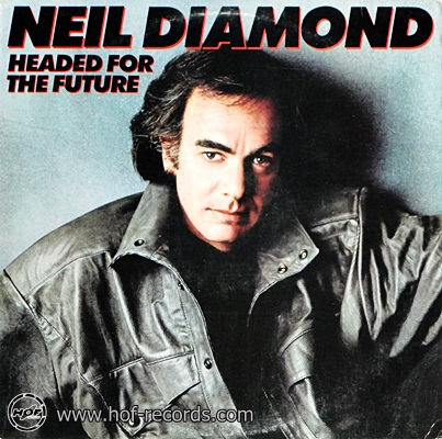 Neil Dimond - Headed For The Future 1986 1lp