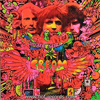 Cream - Disraeli Gears 1967 1lp N.