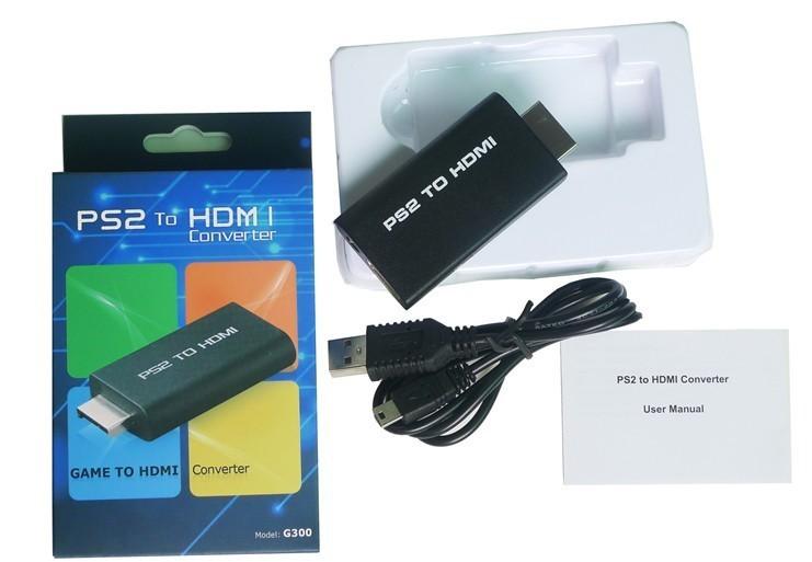เครื่องแปลง PS2 เข้ากับ TV (PS2 to HDMI Converter) ต่อสัญญาณจากเครื่องเล่น PS2 เข้ากับ TV เข้าช่อง HDMI