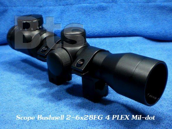 กล้องติดปืน (Scope) Bushnell 2-6x28EG