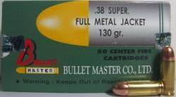 ลูกกระสุน .38 sup FMJ Bullet