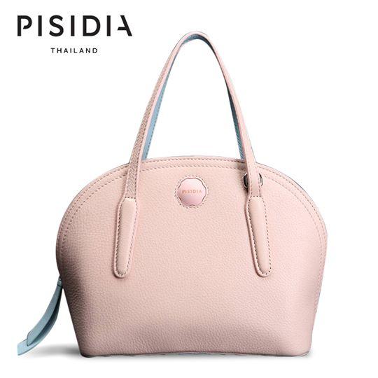 กระเป๋าแบรนด์เนม PISIDIA รุ่น CIRCULAR HOBO สีชมพู (ส่งฟรี EMS) สำเนา