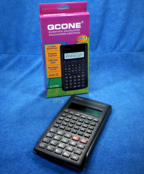 เครื่องคิดเลขวิทยาศาสตร์ QCONE fx-350TL