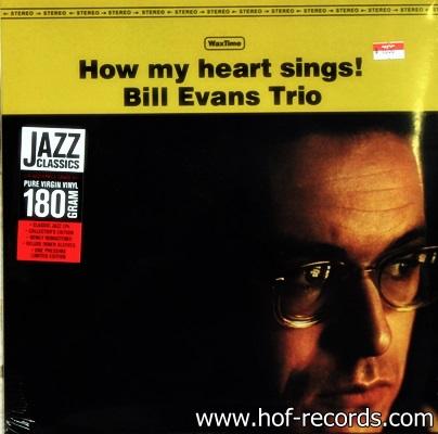 Bill Evans Trio - How My Heart Sings! 1Lp N.