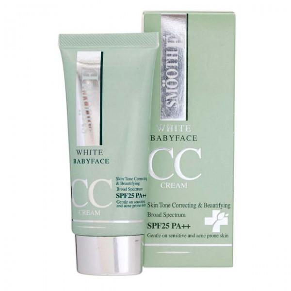 Smooth E White Baby Face CC Cream SPF25 PA+++ (30g) Smooth E White Baby Face CC Cream SPF25 PA+++ (30g)