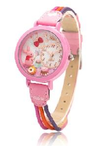 Pre-order: Pink rabbit Mini watch