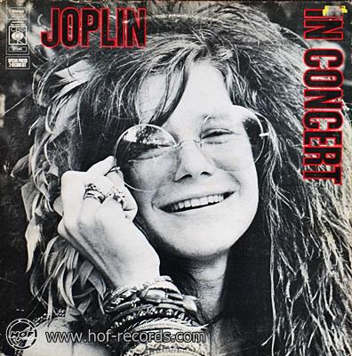 Janis Joplin - In Concert 1972 2lp