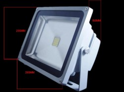 LFL017 โคมไฟLED Flood Light 50W White สีขาว Flood/Area/LandscapLED Flood Light 50W LED 3 600-4 000 Lumen White สีขาว (Chip from Taiwan) ยี่ห้อ OEM รุ่น 50W
