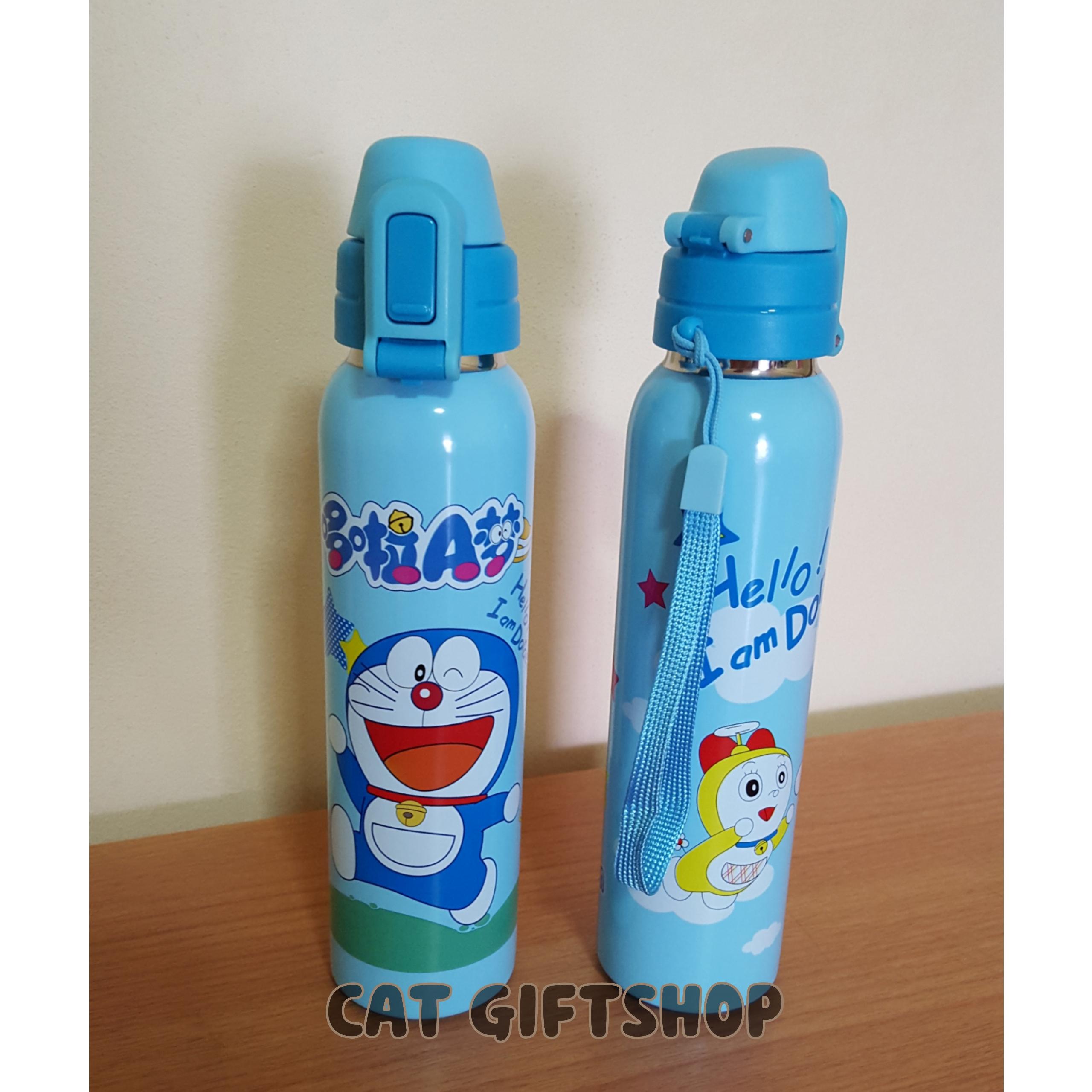 พร้อมส่ง :: กระบอกน้ำร้อน-เย็น Doraemon 200 ml.