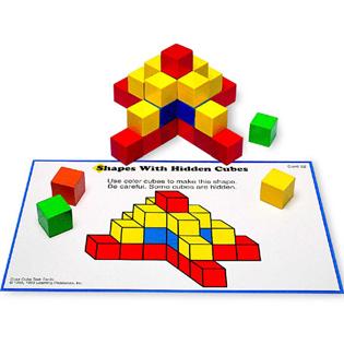 ของเล่นเด็ก ของเล่นเสริมพัฒนาการ Creative Color Cubes Activity Set