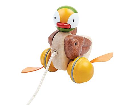 ของเล่นไม้ ของเล่นเด็ก ของเล่นเสริมพัฒนาการ Pull-Along Duck Pull-Along Duck (ส่งฟรี)