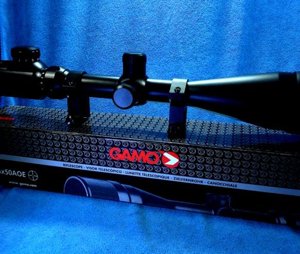 กล้องติดปืน (Scope) GAMO 4-16x 50AOEG