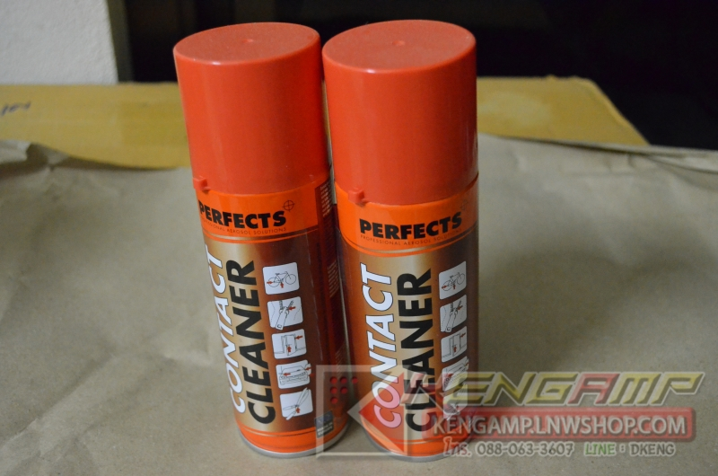 PERFECT กระป๋องแดง CONTACT CLEANER